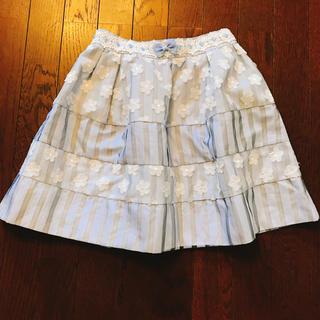 リズリサ(LIZ LISA)のフラワースカート(ミニスカート)