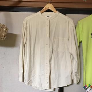 ニコアンド(niko and...)のniko and…  ノーカラーシャツ(シャツ/ブラウス(長袖/七分))