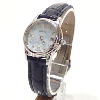 シチズン(CITIZEN)のA597 シチズン エクシード エコドライブ 電波ソーラー EAD75-2831(腕時計)