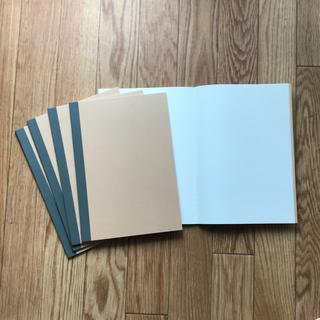 ムジルシリョウヒン(MUJI (無印良品))のノート 12冊セット 無印良品 B掛 6ミリ(ノート/メモ帳/ふせん)