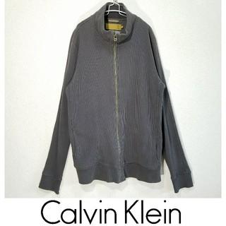 カルバンクライン(Calvin Klein)のCK39 カルバンクライン ジップアップブルゾン(スウェット)