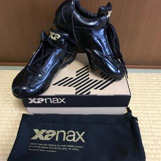 ザナックス(Xanax)のザナックス新品未使用定価14175革底スパイク28.0(シューズ)