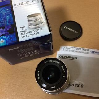 オリンパス(OLYMPUS)のOlympus m.zuiko 12mm f2.0 超広角単焦点レンズ(レンズ(単焦点))