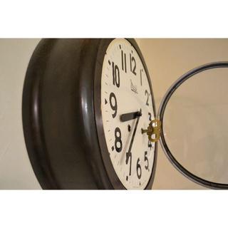 アンティーク 整備済みゼンマイ時計 振り子ボーンボーン(彫刻/オブジェ)