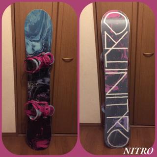 ナイトロ(NITRO)の美品 ナイトロ セット売り 16-17年モデル バインディング Lynx(ボード)