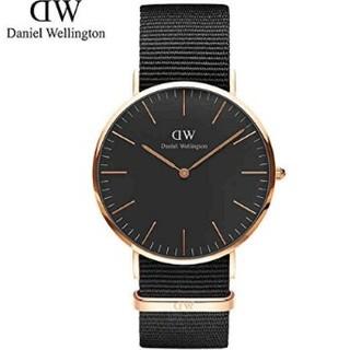 ダニエルウェリントン(Daniel Wellington)の新品 保証付♪ Daniel Wellington 40mm 腕時計 ナイロン(腕時計(アナログ))