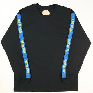 イケア(IKEA)のYUKI UEDA ARM TAPE LONG T-SHIRT black 3(Tシャツ/カットソー(七分/長袖))
