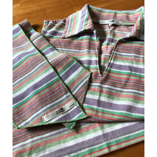 ニジュウサンク(23区)の23区  ノースリーブシャツ(カットソー(半袖/袖なし))
