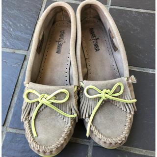 ミネトンカ(Minnetonka)のミネトンカ フリンジ モカシン(ローファー/革靴)