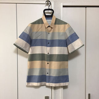 ドリスヴァンノッテン(DRIES VAN NOTEN)の美品 ステファンシュナイダー 半袖シャツ(シャツ)