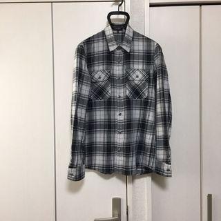 アトウ(ato)のATTACHMENNT チェックシャツ アタッチメント(シャツ)