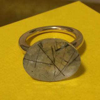 引越し前、大幅値下げ!ブラックルチル キャンディヌードリング(リング(指輪))
