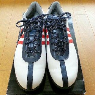 アディダス(adidas)の送料無料 アディダス ゴルフシューズ レディース24cm(シューズ)
