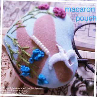 ミナペルホネン(mina perhonen)のminäperhonenʚϊɞプチな♥macaron pouch(その他)