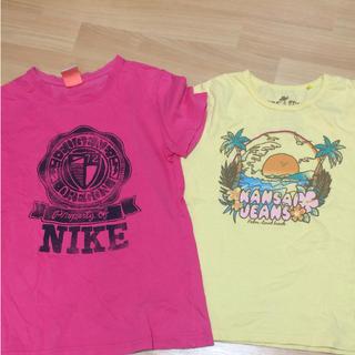ナイキ(NIKE)のNIKE TシャツとカンサイジーンズのTシャツ(Tシャツ/カットソー)