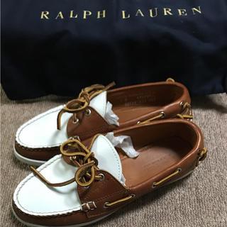 ラルフローレン(Ralph Lauren)のラルフローレン デッキシューズ レディース(ローファー/革靴)