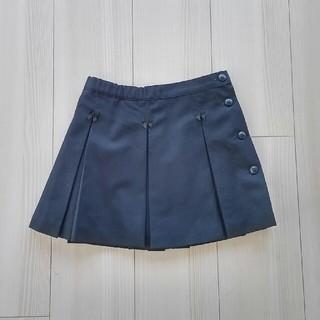 CACHARELお受験に☆ 紺色サイドボタンスカート