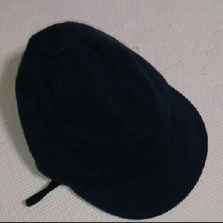 ムジルシリョウヒン(MUJI (無印良品))のMUJI  キッズキャップ ネイビー 無印良品(帽子)