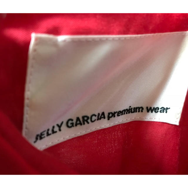 JELLY GARCIA(ジェリーガルシア)のジェリーガルシア の真っ赤なドレス レディースのワンピース(その他)の商品写真