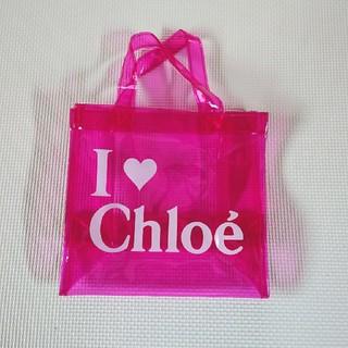 クロエ(Chloe)のChloe 透明バッグ エコバッグ ビーチ プールバッグ(エコバッグ)