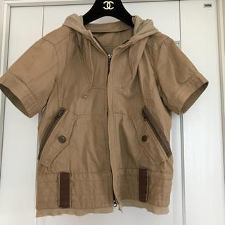 バックナンバー(BACK NUMBER)のBACK NUMBER 半袖ジャケット(スプリングコート)