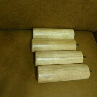ムジルシリョウヒン(MUJI (無印良品))の無印良品 脚付4本組(脚付きマットレスベッド)