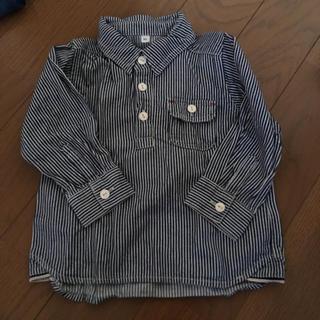ムジルシリョウヒン(MUJI (無印良品))の無印 ダンガリーシャツ 90センチ(ブラウス)