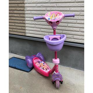 ディズニー(Disney)のディズニープリンセスキックスケーター(三輪車/乗り物)