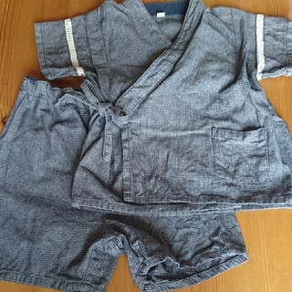 ムジルシリョウヒン(MUJI (無印良品))の【無印良品】サイズ90 甚平(甚平/浴衣)