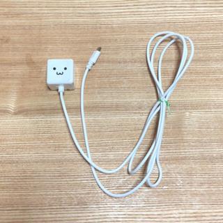 エレコム(ELECOM)のエレコム 充電器 ACアダプター(Android対応)折畳式プラグ1.5m(バッテリー/充電器)