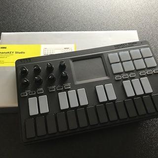 コルグ(KORG)の【最終値下】KORG MIDI Bluetooth nanoKeyStudio(MIDIコントローラー)