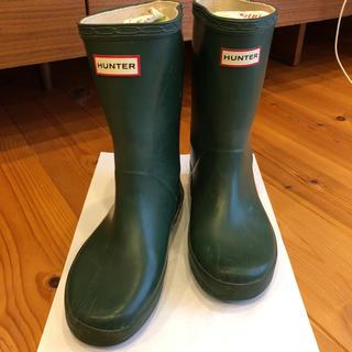 ハンター(HUNTER)のHUNTER キッズレインブーツ UK12 (約18cm)(長靴/レインシューズ)
