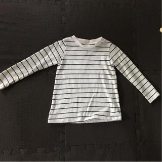 エービーシーデザイン(ABC Design)の白ボーダーTシャツ キッズ90(Tシャツ/カットソー)
