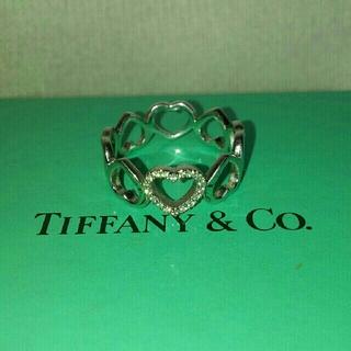 ティファニー(Tiffany & Co.)のTIFFANY&Co.【ティファニー】ダイヤセンチメンタルハートリングk18(リング(指輪))