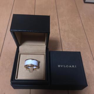 ブルガリ(BVLGARI)の最終値下げ、ブルガリ セラミック、ホワイト、ピンク、ゴールド(リング(指輪))