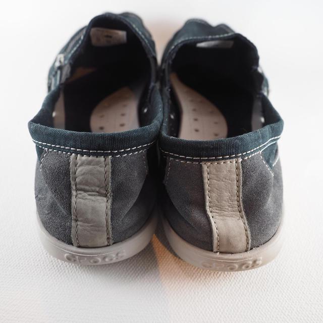 crocs(クロックス)のメンズ キャンバスシューズ crocs ブラック M10/約28cm メンズの靴/シューズ(スニーカー)の商品写真