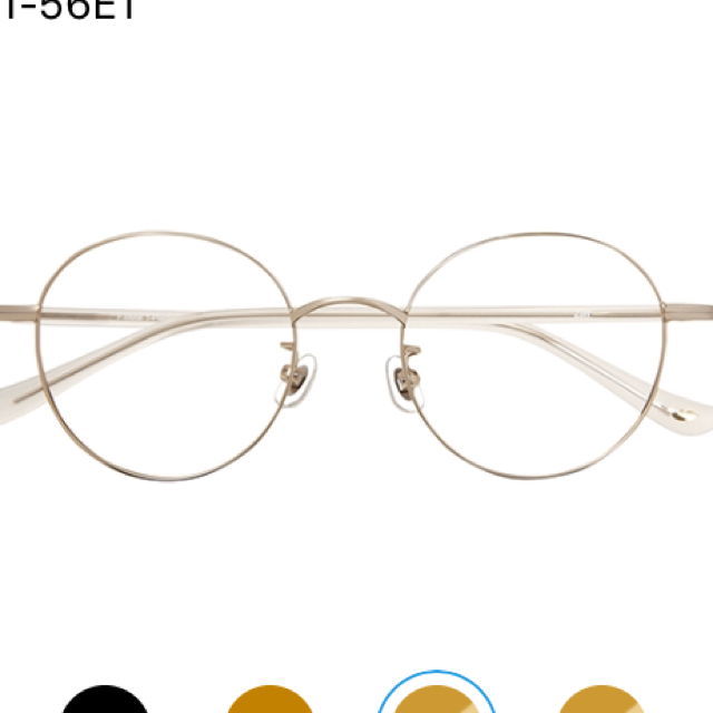 Zoff(ゾフ)のzoff 田中里奈 メガネ レディースのファッション小物(サングラス/メガネ)の商品写真