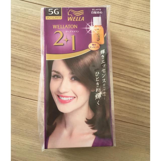 WELLA(ウエラ)のWELLA 2+1白髪染め サンプル品 コスメ/美容のヘアケア/スタイリング(白髪染め)の商品写真