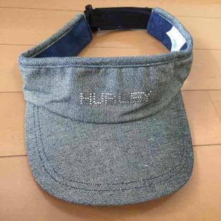 ハーレー(Hurley)のHURLEYハーレーサンバイザー(キャップ)