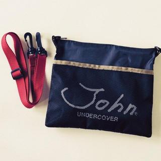 アンダーカバー(UNDERCOVER)のjohn undercoverサコッシュ&undercoverボンディングポーチ(ウエストポーチ)