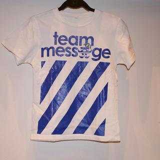 チームメッセージ(TEAM MESSAGE)のTeam message 浜崎あゆみa- nation Tシャツ Sサイズ(Tシャツ(半袖/袖なし))