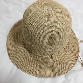 ムジルシリョウヒン(MUJI (無印良品))の無印良品/ラフィアたためる帽子(麦わら帽子/ストローハット)