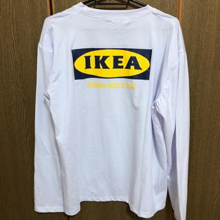 イケア(IKEA)のIKEA ロングTシャツ(Tシャツ/カットソー(七分/長袖))