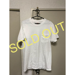ヘインズ(Hanes)のHanes BEEFY ポケット付き Tシャツ ホワイト メンズ 半袖(Tシャツ/カットソー(半袖/袖なし))