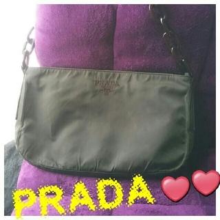 プラダ(PRADA)の♥本日限定年末大特価❣️希少✨【正規】ヴィンテージPRADA❤ショルダーバッグ(ショルダーバッグ)