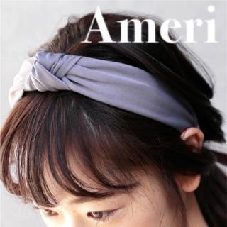 アメリヴィンテージ(Ameri VINTAGE)の【新品❗️】Ameri VINTAGE リボン ヘアバンド/カチューシャ(カチューシャ)