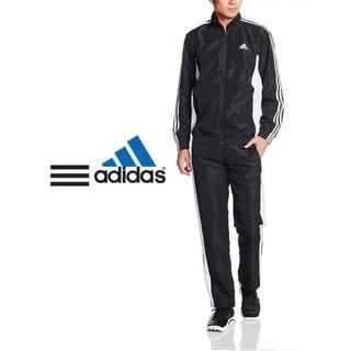 アディダス(adidas)のadidas セットアップ Mサイズ 上下ジャージ 三本ライン 内メッシュ(セットアップ)