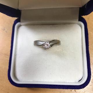 キュービックジルコニアのリング(17号)(リング(指輪))