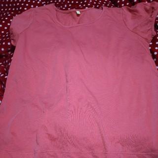 大きいサイズ  パフスリーブTシャツ(Tシャツ(半袖/袖なし))