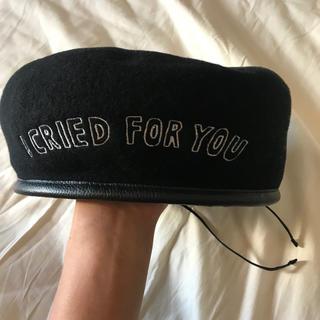 ケービーエフ(KBF)のazs tokyo ベレー帽(ハンチング/ベレー帽)